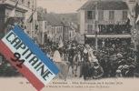 MONTLHERY 91 KERMESSE FETE HISTORIQUE DU 3 /07/ 1910 ST LOUIS ET BLANCHE DE CASTILLE SE RENDANT A LA PORTE DU MONTOIRE - Montlhery