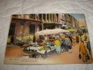 Nice Le Marche Aux Fleurs  -neuve  Coloré Annee 1920-30 - Nizza