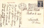 SUISSE @ Marque Postale Sur CPA - Départ  BERN - BERNE Le 09/10/1920 @ Pub Virements Postaux ( économisent Billets ! ) - Poststempel