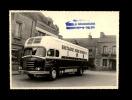 PHOTO - 56 - PLOEMEUR - Camion Frigorifique- Transports Mélédo à Ploemeur - Camion Saviem - Carrosserie Tual à Trédion - Automobiles