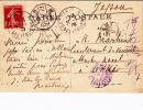 Carte - Cachet Départ Paris Italiens 30/07/09, Arrivée 16/08 Tokio Japon - Pour Lieutenant De Vaisseau Attaché Naval - 1877-1920: Semi-Moderne
