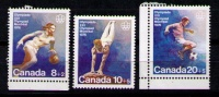 CANADA 1976 - JUEGOS OLIMPICOS DE MONTREAL - YVERT Nº  591-593 - Verano 1976: Montréal