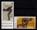 CANADA 1975 - JUEGOS OLIMPICOS DE MONTREAL - YVERT Nº  559-560 - Verano 1976: Montréal