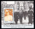 Uganda MNH Scott #781 Souvenir Sheet 1000sh Queen Mother's 90th Birthday - Ouganda (1962-...)