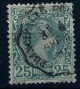 "Monaco YT 6 "" Prince Charles III 25c. Vert "" 1885 Oblitéré - Monaco"