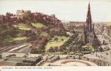 EDINBURGH Castle And The National Gallery Of Scotland  Written 1951    TTB - Midlothian/ Edinburgh