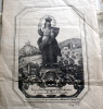 INCISIONE RELIGIOSA ARTISTICA DEL 1879 - Imágenes Religiosas