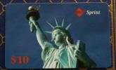 TELECARTA USA 1993  - STATUE OF LIBERTY $ 10 NEW - Schede Telefoniche