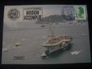 """FRANCE  De  1988   """"  TOULON - Retour De La Mission PROMETHEE   """"   Carte  Du  16 / 09 / 1988 - Militaria"""