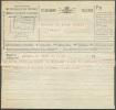 Télégramme Du 9-VIII1928 Déposé à Bruxelles Avec Cachet Télégraphique (modèle 1) De KNOCKE T T (2 Croix Dans Le Bas). - - Télégraphes
