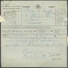 Télégramme Du 26-X-1926 Déposé à Namur Avec Cachet Ferroviaire De St-DENYS-WESTREM Du Commandant COLLARD Au Baron De MOf - Télégraphes