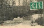 ESSOYES - Les Bords De L ´ OURCE Animés - Vue Prise Du Pont Entre Essoyes Et Loches - Collec. Berlot - 2 Scans - France