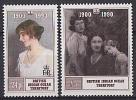 B.I.O.T. 1990 - 90e Ann Reine Mere - 2v Neufs // Mnh CV €25.00 - Territoire Britannique De L'Océan Indien