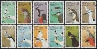 B.I.O.T. 1990 - Faune, Oiseaux - 12v Neufs // Mnh - Territoire Britannique De L'Océan Indien