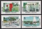 B.I.O.T. 1991 - Services Gouvernement - 4v Neufs // Mnh CV €18.00 - Territoire Britannique De L'Océan Indien