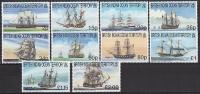 B.I.O.T. 1999 - Anciens Bateaux Voiliers - 10v Neufs // Mnh - Territoire Britannique De L'Océan Indien