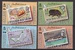 B.I.O.T. 1990 - Timbres Sur Timbres, London 1990 - 4v Neufs // Mnh CV €45 - Territoire Britannique De L'Océan Indien