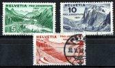 Switzerland 1931 Pro Juventute 3 Values Used  SG J56-58 - Pro Juventute