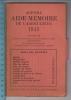 Agenda - Aide-Mémoire De L'agriculteur 1945 - Ecole Cantonale D'agriculture Du Jura, Coutemelon & Neuchâteloise, Cer - Comptabilité/Gestion