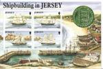 BLOC NEUF1992 SHIPBUILDING IN JERSEY - Jersey