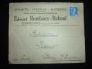 LETTRE TP MARIANNE DE MULLER 20 F OBL. MEC.10-9-1957 COMBOURG (35 ILLE ET VILAINE) + GRANIT PIERRES MARBRES - Marcophilie (Lettres)