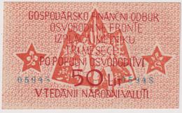 SLOVENIA , 50 LIRE ND (1944) , PS-104a , UNC - Slovénie