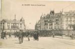 Postal BELFORT (Franco Condado) 1909. Soldats Avenue Carnet - Belfort - Ciudad
