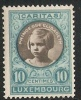 Luxembourg Ongebr. M.plakker Prifix 192 - 1940-1944 Occupation Allemande