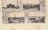 Boyne City MI Michigan, Lumber Mill Planing Mill Chemical Plant Railroad Machine Shop, Industry, C1900s Vintage Postcard - United States