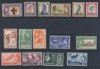 SARAWAK   SCOTT N°197/211 NEUF MLH*/OBLITERE - Sarawak (...-1963)