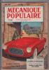 Mécanique Populaire - N° 73 Juin 1952 - Bricolage / Technique