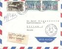 1962 Einschreibebrief In Die Schweiz Nach Zürich - Tunisie (1956-...)