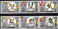 Teams Zur Fussball WM Mexiko 1986 Korea 2728/33+ Block 213 O 6€ Flaggen Der Nationen Soccer Bloc Sheet Fogli Bf Of Corea - Korea (Nord-)