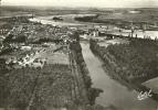 SULLY VU D'AVION   VUE GENERALE ET LA VALLEE DE LA LOIRE - Sully Sur Loire