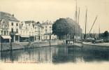 Dendermonde -  Zicht Op De Schelde - Binnenschip ( Verso Zien ) - Dendermonde