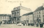 Wetteren - De Markt - Geanimeerd- 1912  ( Verso Zien ) - Wetteren