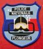 Ecusson POLICE NATIONALE : PLONGEUR - Police & Gendarmerie