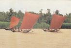 ASIE,ASIA,PAYS DU BENGALE,BANGLADESH,DACCA,DHAKA,RIVIERE BURIGANGA,voilier,peche,course - Bangladesh