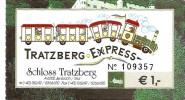 Verkehrskarte / Ticket De Transport -Tratzberg Express - Schloss Tratzberg [château - Autriche - Austria 2006] - Sonstige