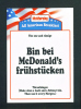 GERMANY  -  McDonalds/Advertising Publicity Postcard/Used As Scans - Restaurants