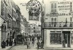 ATTENTION  REPRODUCTION ! LA ROCHELLE RUE CHEF DE VILLE ET SES ARCADES VERS 1905 - La Rochelle