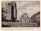 Fotoincisione Doppia LAZIO: TUSCANIA (Chiesa San Pietro, Esterno E Interno Chiesa S. Maria Maggiore) - OTTIMA - Prints & Engravings