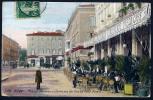 Nice - Place Masséna - Térasse Du Grand Café Pomel - 1910  Dos écrit - Markten, Feesten