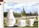 Carte Postale - PORCELAINE  LA TISANIERE - Copie De La Production De Manufacture De CHANTILLY  - Décor Kakiémon - Arts