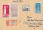 DDR R-Brief Mif Minr.783819,824 Ichtershausen - DDR