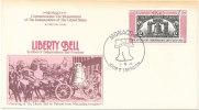 Monaco  FDC 3-5-1976 U.S. Bi-Centennial 1776 - 1976 With Cachet - Us Independence