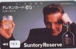 Télécarte Japon * ALCOOL * SUNTORY  WHISKEY (162) PHONECARD JAPAN * Alcohol * DRANK * DRINK * BEVERAGES - Alimentación