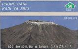 Telecarte Tanzania 302 A (Mint,Neuve) Très Rare ! - Schede Telefoniche