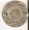 MONEDA DE PLATA DE MARRUECOS DE 5 DIRHAM DEL 1315  MUY RARA (COIN) SILVER,ARGENT. - Marruecos