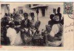Djibouti..très Animée..un Café Somalis - Djibouti